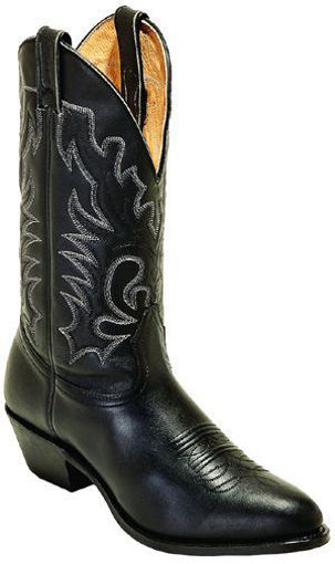 Picture of Boulet 0064: Challenger Sporty Black Deer Tan Men's Medium Cowboy Toe