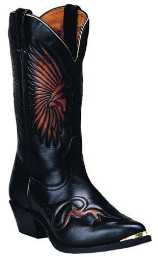 Picture of Boulet 7809: Brushoff Nova Russet Western Boots