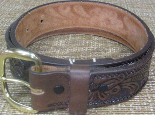 Picture of 5508 Brushy Creek Belt: Brown Leather