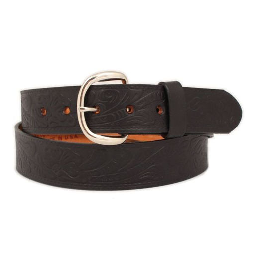 Picture of 5509 Brushy Creek Belt: Tooled Black