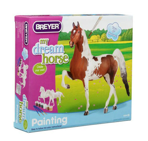 Picture of 4099 Breyer My Dream Horse - Paint Your Own Horse Activity Kit Quarte
