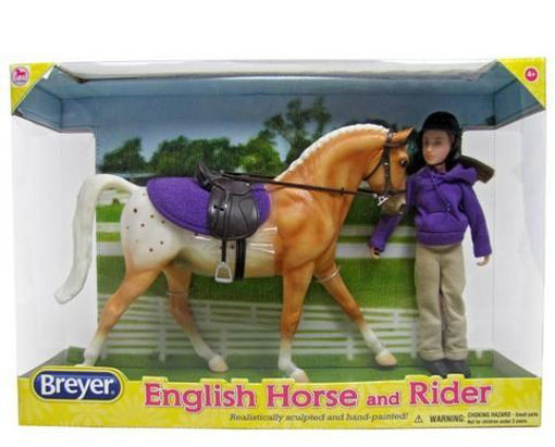 Picture of 61114 Breyer Classic English Horse & Rider