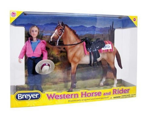 Picture of 61070 Breyer Classics Western Horse & Rider