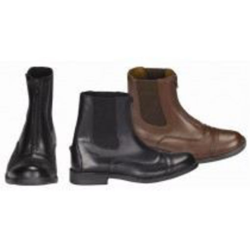 Picture of 152755/152750 Paddock Boots Tuffrider Ladies Starter Synthetic Zip