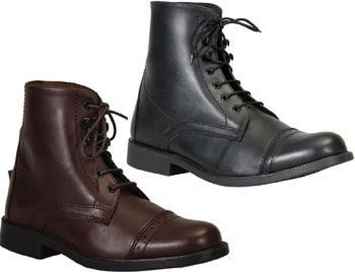 Picture of 152756 Paddock Boots Tuffrider Starter Synthetic Laced