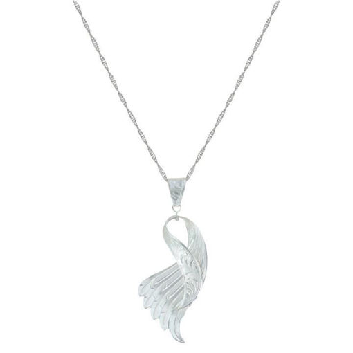 Picture of NC3754 Loops of Angel Wings Necklace