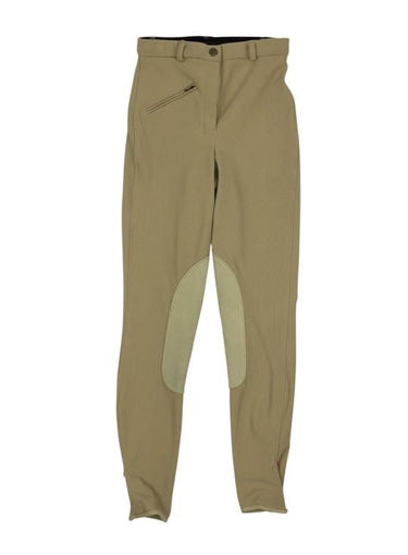 Picture of 83478Bb Tuffrider Front Zip Knee Patch Breeches