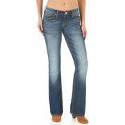 Picture of V356 Wrangler Metro Mae Mid-rise Jeans