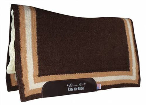 Picture of Professional's Choice Comfort Fit Air Ride Western Pad - Border