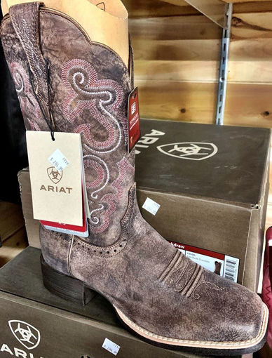 Picture of 10021616 Ariat Ladies Quickdraw Western Boot