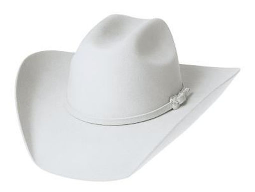 Picture of 0518 Legacy  8X White Western Felt Hat